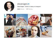 """""""Bucky and Steve on Instagram (x) """""""