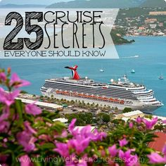 25 Cruise Secrets Everyone Should Know st cruise lines offer free room service, which makes for a relaxing evening in. Don't feel obligated to go to the dining room – this is yo. Cruise Tips, Cruise Travel, Cruise Vacation, Disney Cruise, Vacation Trips, Vacation Spots, Vacation Ideas, Shopping Travel, Honeymoon Cruises