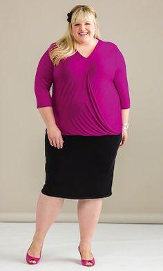 Pamela Top & Concourse Skirt / MiB Plus Size Fashion for Women