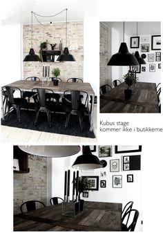 ◊ Nyt i spisestuen. Dinning Room Tables, Dining Room Design, Home Decoracion, Piece A Vivre, Interior Decorating, Interior Design, Cozy Place, Home And Deco, Home And Living