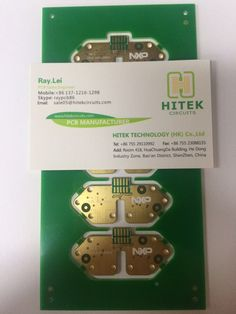 NXP Circuit Baord Fr-4, Tg170, 4L, 1.6mm, 1/1/1/1 OZ, ENIG. Impedance Control