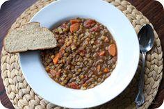 Little Spatula: Vegetarian Lentil Soup
