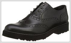 Cult  Rose W Low 424 Brush.leath.,  Damen Niedrige Sneaker , schwarz - schwarz - Größe: 36 EU - Slipper und mokassins für frauen (*Partner-Link)