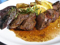 Marinované kančí panenky a hřbety Pot Roast, Steak, Beef, Cooking, Ethnic Recipes, Drink, Carne Asada, Meat, Kitchen