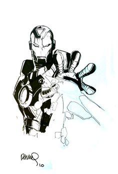 Iron Man | Humberto Ramos
