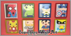 My Sims 4 Blog: Wall Art by Itssimsimple