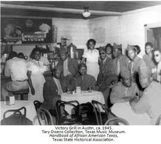 "Texas State Historical Association Liked · 14 hours ago   From our new ""Handbook of African American Texas."" Victory Grill opened in 1945 as a gathering place for African American soldiers returning home from WWII--hence the name. An important stop for notable blues players, B.B. King and W. C. Clark got their their start here."