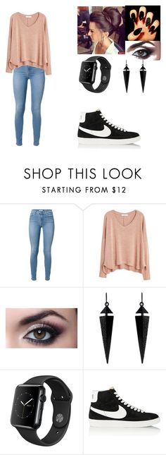 """weekend"" by karlee-200359 on Polyvore featuring MANGO, Oasis and NIKE"