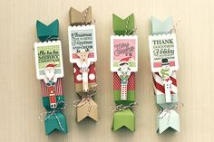 Holiday Treat Boxes by Erin Lincoln for Papertrey Ink (November 2015)