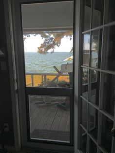 Dog Proof Screen Door! This Was Our Second Attempt, But We Finally Got The  Door Exactly How We Wanted It; Awesome Feeling The Breeze Coming Across The  Lake!