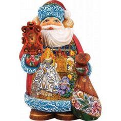 G DeBrekht Derevo Collection Nutcracker Santa 900 Piece Limited Edition 5150114 #GDeBrekht