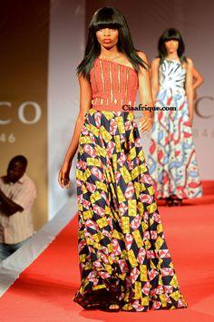 long kitenge dress on ciaafrique et toutes les photos du vlisco fashion- show-sur ciaafriqur
