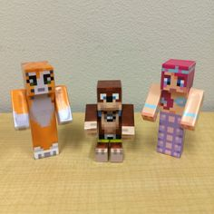 Check out our custom toys for Minecraft! Get one made with your custom skin today =D. Check out seuscraft.com