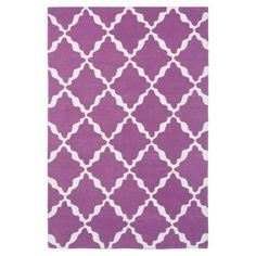 Lattice Rug, Mauve | PBteen