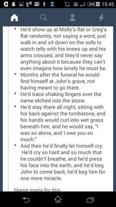 THIS IS NOT OKAY! Sherlock if John died