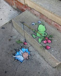 D Artworks That Create Unbelievable Optical Illusion On Streets - 17 amazing works of 3d street art