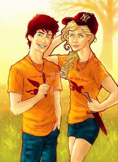 Percabeth by WaterSorcerer