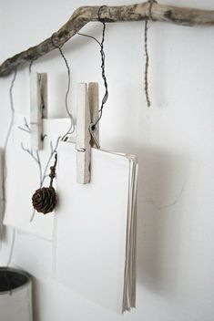 treibholz praktisch verwenden - zetteln aufhängen - Wunderbare Treibholz Deko, die auch praktisch sein kann - 45 verblüffende Ideen