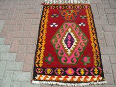 ANATOLIAN VINTAGE Turkish Kilim Rug Carpet by PergamonArt on Etsy