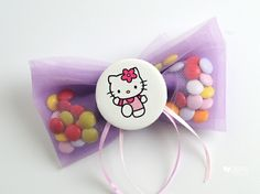 Cute Hello Kitty Christening favors or baby shower gift for your baby girl! Christening Favors, Baptism Favors, Girl Christening, Baptism Invitations, Greek Wedding, Babyshower, Wedding Favors, Baby Shower Gifts, Hello Kitty