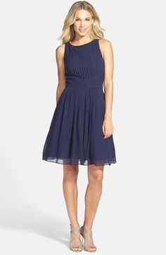 Ted Baker London 'Saphira' Tiered Pleat A-Line Dress Ted Baker Kleid, Ted Baker Dress, London Outfit, Dress Me Up, New Dress, Cocktail Attire, Short Bridesmaid Dresses, Bridesmaids, Wedding Dresses