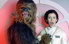 Star Wars | Chewbacca & Leia