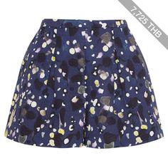 Peter Pilotto Grace printed cotton-blend cloqué shorts