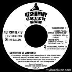 Neshaminy Creek - Punkel Dunkel Pumpkin Ale
