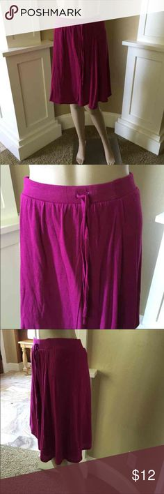 FINAL PRICENWOT-Skirt by Old Navy Beautiful magenta color skirt NWOT-No pet/non-smoking home. Old Navy Skirts