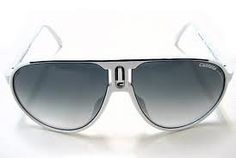 New Carrera Champion/L CCP White-Black/Gray Gradient 62mm Sunglasses by Carrera. $86.95. Carrera is this season's must have brand: leather and buttons for Carrera 37, 32 and 33. These are models flaunting mask or droplet/square designs with leather inserts fastened by a small metal button on the front. Exclusive multi-layer acetates and manual creations for utter quality. The Carrera 38 model is also made in multi-layer acetates, with a classic pilot shape and multi-faceted vo...