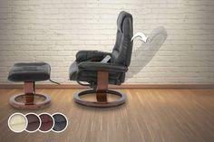 Massage Recliner Chair & Footstool