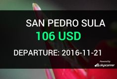 Flight from Orlando to San Pedro Sula by Spirit Airlines #travel #ticket #flight #deals   BOOK NOW >>>