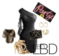 """""""LBD"""" by julie-lg on Polyvore featuring Michael Kors, Belk Silverworks and Marc Jacobs"""