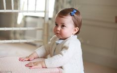 Princess Charlotte is set to celebrate her first birthday on Monday and to mark the occasion Kensington Palace have released four new pictures of the youngest member of the royal family.