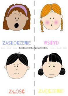 Emocje dla dzieci. Zabawy z emocjami. Diy And Crafts, Crafts For Kids, Polish Language, Teacher Inspiration, Child Day, Kids Education, Asd, Social Skills, Preschool Activities