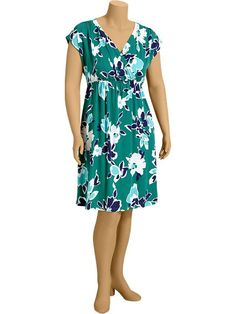 Old Navy | Women's Plus Cross-Front Cap-Sleeve Dresses