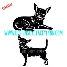 Chihuahua decal and/or decal cut files