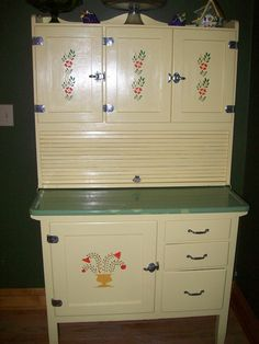 cool vintage Hoosier cabinets - Yahoo Image Search Results