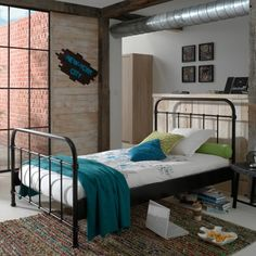 Detská posteľ New York Nest Design, Kid Beds, Bunk Beds, Metal Beds, New Room, Toddler Bed, New Homes, Room Decor, York
