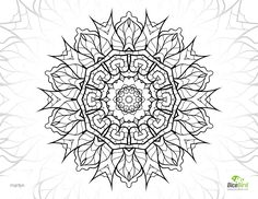 marilyn free mandala to color