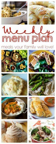 Weekly Meal Plan Wee