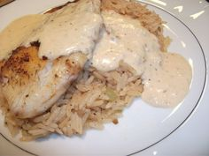 Picture of Oven Blackened Tilapia with Cajun Rice