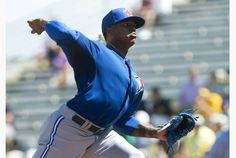 Toronto Blue Jays starting pitcher Marcus Stroman is out for the season with a knee injury. Marcus Stroman, Toronto Star, Knee Injury, Toronto Blue Jays, Seasons, Baseball, Seasons Of The Year
