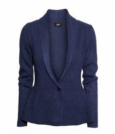 Nice blazer type sweater I suppose size medium