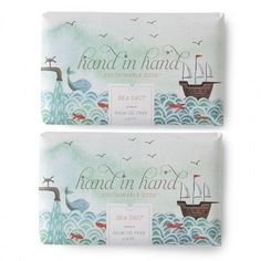 Sea Salt - 2 Pack - Shop // Hand In Hand Soap