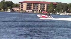 Go for a helluva ride with us on a new Chaparral Vortex VRX Jet Powered Boat! Sunrise Marine - YouTube