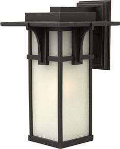 Hinkley Manhattan 1-Light Wall Outdoor Oil Rubbed Bronze 2235OZ | LampsUSA