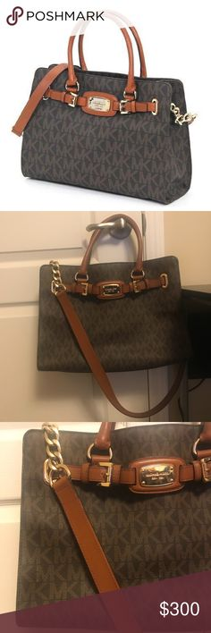 36214bda4a3 Michael Kors Large EW Hamilton Tote 🌿condition  excellent used condition  🌿worn