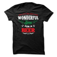It's The Most Wonderful Time For A Beer T Shirt, Hoodie, Tee Shirts ==► Shopping Now!