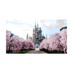 enjoy life while you have it./a haute hippie ❤ liked on Polyvore featuring backgrounds, pictures, photos, castles and house